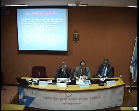 Pablo Figueroa Dorrego, Director da EGAP - Seminario Desafíos de la Gestión Pública Democrática y las Políticas Públicas en Brasil y la CCAA de Galicia